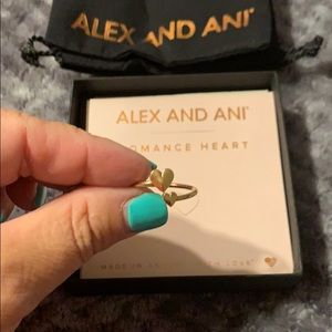 New Alex and Ani Romance ring